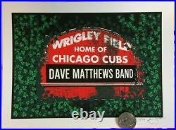 10 Dave Matthews Band Chicago Wrigley Field Ivy Handbill Not Concert Poster 9/18
