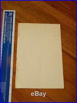 1968 The Doors Northern California Folk-rock Festival Concert Handbill