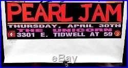 1992 Soundgarden Pearl Jam Ultra Rare Large Kozik Texas Concert Poster