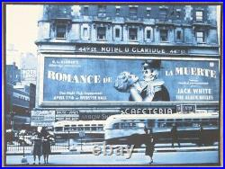 2012 Jack White NYC I Silkscreen Concert Poster s/n by Rob Jones