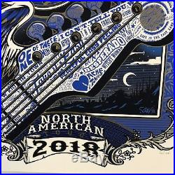 2018 Eagles North American Tour Limited Edition Concert Poster #1000 Charlotte
