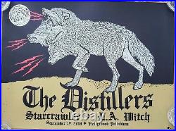 2018 The Distillers Hollywood Palladium La Witch Concert Tour Poster 9/15 #/190
