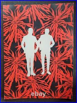 21 TWENTY ONE PILOTS Concert Poster Fan Art London Ally Pally Rare Original