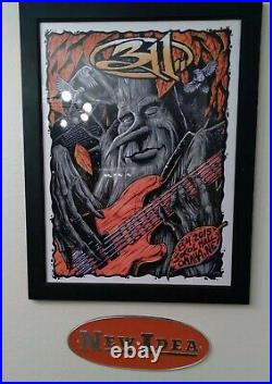 311 Omaha Concert Tour Poster 8-4-2015 # out of 211 Brandon Hart Print LP Record