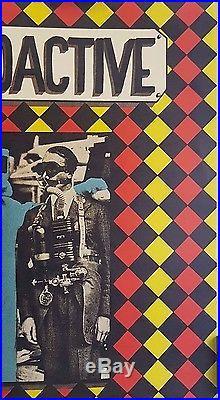 AllmanJoy & Steve Miller Art by Mouse/Kelley Orig 1969 Concert Poster Rare