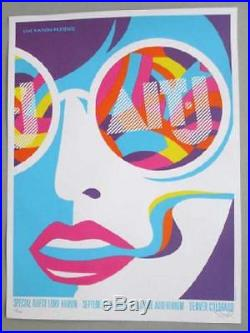 Alt-j Denver 2013 Original Concert Poster Dan Stiles Silkscreen Fillmore