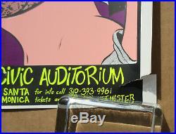 BAD RELIGION MUFFS OFFSPRING Santa Monica Civic 1993 COOP Concert POSTER Punk