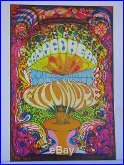 BG139-OP1 Canned Heat Gordon Lightfoot Concert Poster Bill Graham