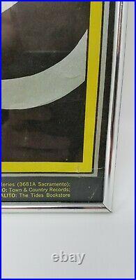 BG61 Fillmore Auditorium 1967 Concert Poster Buffalo Springfield Steve Miller