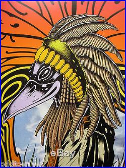 BLACK CROWES Poster Original 2010 Concert by Alan Forbes, Fillmore F-1077