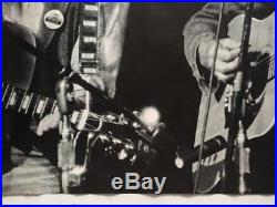 Bangladesh Concert Original Vintage Poster George Harrison Bob Dylan 1971 Pin-up