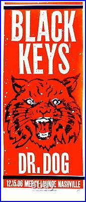 Black Keys Concert Poster 2006 Print Mafia Nashville