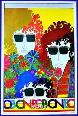 Bob Dylan Bob on Bob Tour Vintage Original 1968 Concert Poster Richard Moffat