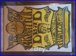 CGC Concert Poster FD-22 OP-2 Grateful Greatful Dead Signed by Mouse