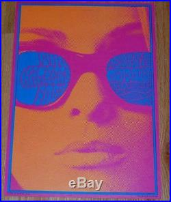 CHAMBERS BROTHERS NEON ROSE NR6 1967 concert poster MATRIX VICTOR MOSCOSO