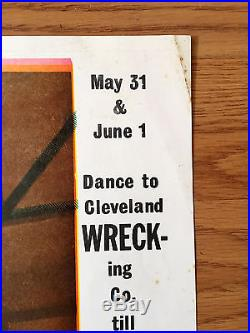 CLEVELAND WRECKING CO. PHOENIX 1968 The Ark Sausalito Concert Poster SF PSYCH