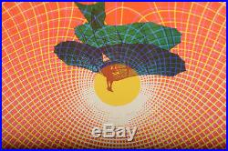 Charlatans & Buddy Guy Original 1967 Rock concert Poster-Family Dog -Rare