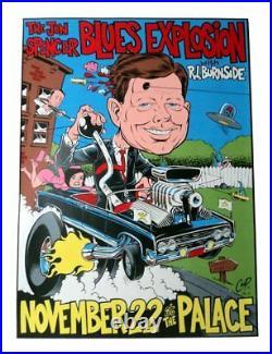 Coop 1996 Jon Spencer Blues Explosion Concert Poster 22.5 x 35 in 96-19