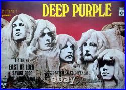 DEEP PURPLE 1970 Konzertplakat Concert In Rock Tourposter Offenbach