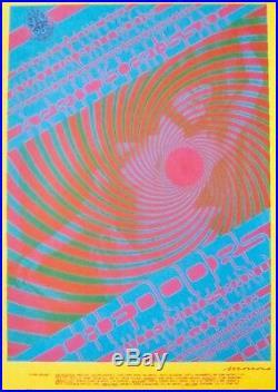 DOORS FD57-2 FAMILY DOG AVALON BALLROOM VICTOR MOSCOSO concert poster 1967 RARE