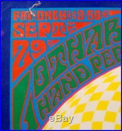 DOORS FD84-2 FAMILY DOG DENVER concert poster 1967 RARE