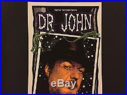 DR. JOHN 1998 Original Blues Concert Poster Print SIGNED MARK ARMINSKI RARE