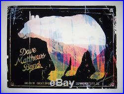Dave Matthews at Dick's Commerce City Colorado 2010 official concert poster s/n