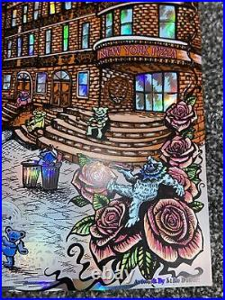 Dead And Company Concert Poster 2019 Citi Field NY Signed By Artist Mike DuBois