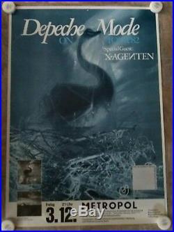Depeche Mode Original A Broken Frame Tour Concert Poster Berlin