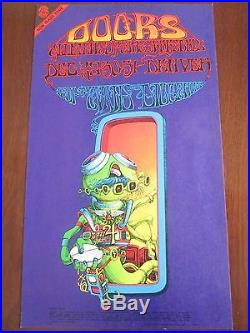 Doors Concert Poster Denver Colorado Rick Griffin c 1967