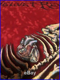 EMEK RARE Velvet Revolver Red Silkscreen Concert Poster
