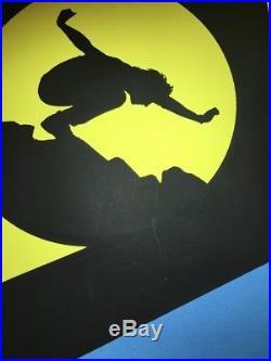 Eddie Vedder Pearl Jam Poster Batman Concert Brad Klausen 2008 Boston New York