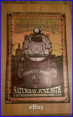 Eric Clapton 2010 Crossroads Concert Poster 35x23 #1467