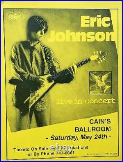 Eric Johnson 1997 Cain's Ballroom Tulsa Original Concert Posters Lot Of (2)