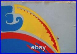 FRANK ZAPPA ROBERTA FLACK 1971 NORTHAMPTON Concert poster 26x40 VERY RARE