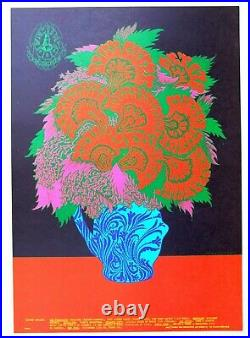 Family Dog FD 86 Avalon Concert Poster, Blue Cheer, Art Victor Moscoso. 1967