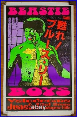Frank Kozik -1995- Beastie Boys Concert Poster Velodrome Dominguez Hills, CA