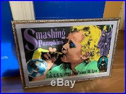 Frank Kozik Signed -1996 Smashing Pumpkins Concert Poster
