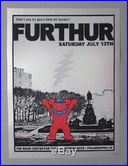 Furthur Grateful Dead Philadelphia 2013 Original Concert Poster Silkscreen Rocky