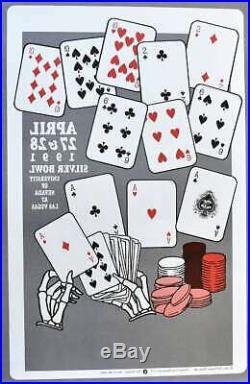 Grateful Dead Concert Poster Las Vegas 1991