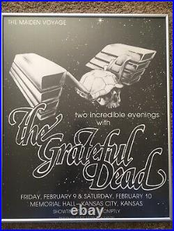 Grateful Dead Kansas City Maiden Voyage 1979 Concert Poster