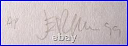 Gwar Concert Poster 1999 Jermaine Rogers Artist Proof