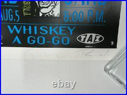 HELMET Whisky A Go Go 1992 PUNK Concert POSTER Signed & Numbered TAZ Mint