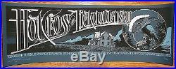 Hot Cross Lickgoldensky Bright Calm Blue Aaron Horkey silkscreen concert poster
