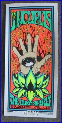 Incubus Columbus Ohio 2009 Original Silkscreen Concert Poster Enginehouse13