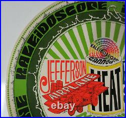 JEFFERSON AIRPLANE BUFFALO SPRINGFIELD 1968 Kaleidoscope Concert POSTER Canned H
