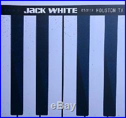 Jack White Houston concert Poster 5/1 2018 boarding house reach 143/321 keyboard