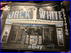 Jack White Official Tour Concert Poster Detroit 2018 Boarding House Reach /441