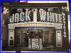 Jack White Official Tour Concert Poster Detroit 2018 Numbered 188/441