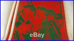 Jefferson Airplane 1967 Original Concert Poster At Saladin Head Shop, Lithograph